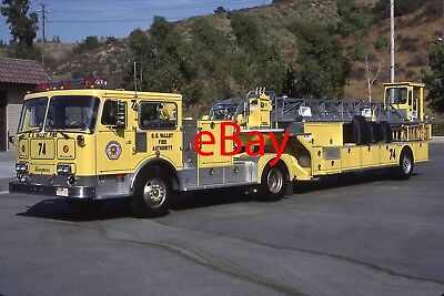 Fire Engine Photo San Gabriel Valley Seagrave Aerial Truck Apparatus Madderom