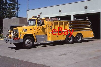 Fire Engine Photo Boring Ford Western States Tanker Truck Apparatus Madderom