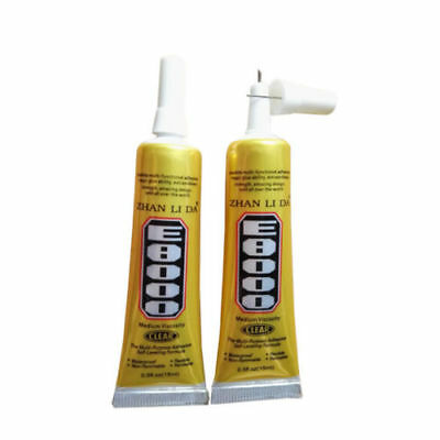 E8000 Clear Adhesive Sealant Glue For Clothes Shoes Jewelry Seal Cellphone Z1