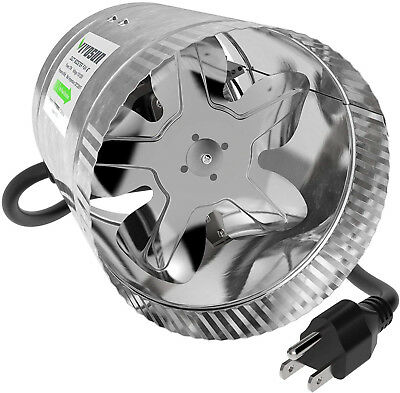 VIVOSUN 6 Inch Inline Duct Booster Fan 240 CFM, Extreme Low Noise and Extra