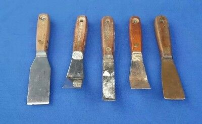 Lot 5 - Vintage Putty Knives Blades, Sommer & Maca and Others