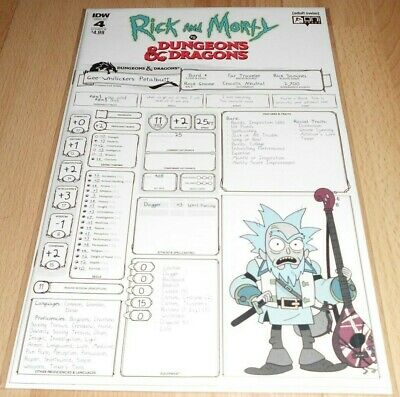 RICK & MORTY VS DUNGEONS & DRAGONS #4 (OF 4) ..NEW Release!