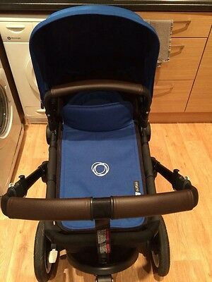 Custom made Pram Items faux leather handles and bumper for bugaboo buffalo