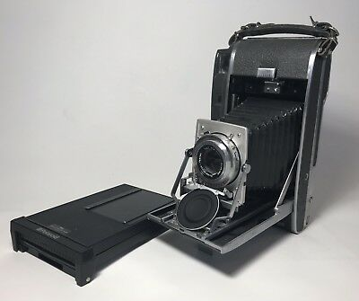 Polaroid 110A Land Camera W/ Packfilm Back - All In One Conversion Kit!
