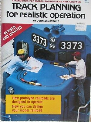 Track Planning For Realistic Operations By John Armstrong Model Railroad