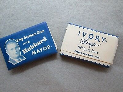 Vintage Keep Dearborn Clean WIth Orville Hubbard Campaign Ivory Soap Michigan