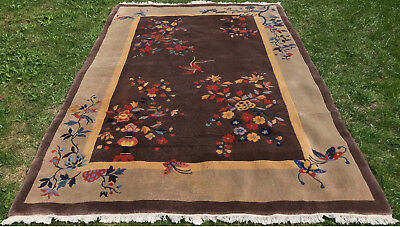 China Teppich Rug Carpet Tapijt Tapis Tapetto Kunst Antik Orient Perser Art Deco