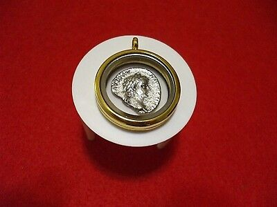"Time Of Christ >>> Genuine Biblical Coin Pendant >>> ""give To Caesar"" Mark 12:17"