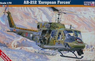 """Mistercraft: AB-212 """"European Forces"""" in 1:72"""