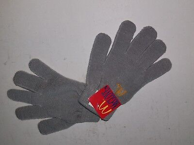 Vintage McDonald's McGlove Kids Gray Gloves