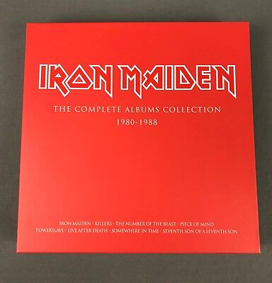 Iron Maiden - The Complete Album Collections 1980 - 1988