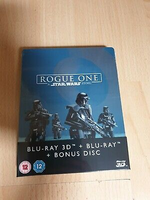 Star wars STEELBOOK Blu-ray Rogue One [Edition Zavvi  Titre Sur Tranche