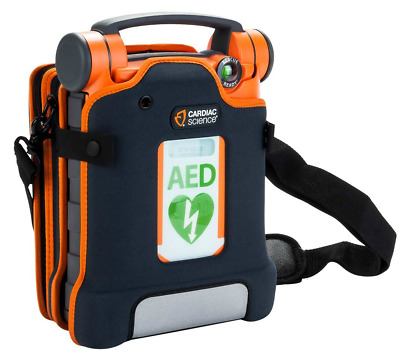 Cardiac Science G5 Powerheart Automatic AED w/ Premium Case Bilingual