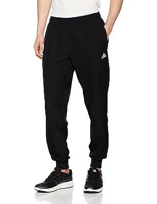 86a048fc6 Mens New Adidas Woven Tracksuit Jogging Bottoms Joggers Track Pants - Black