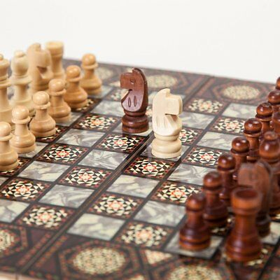 Chess Folding Wooden Chessboard 0I