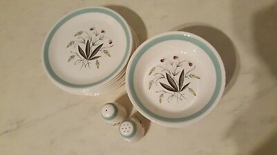 Vintage Alfred Meakin Hedgerow Varied Listing China Plates Soup Bowls