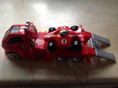 Tow N Go >> Tomy Tow N Go Racer Toy Vehicle Play To Learn Load N Go Racing Car
