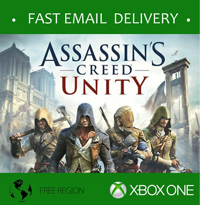 Assassin's Creed: Unity game, Xbox One - Electronic Delivery *READ TERMS
