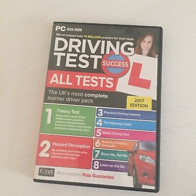 Driving Theory Test Success All Tests and Hazard Perception 2017 PC DVD-ROM atpc