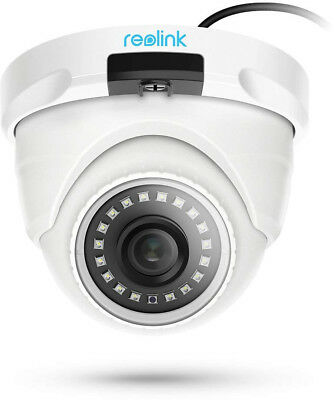 Reolink PoE Security IP Camera 5MP Ultra HD Dome Outdoor With Audio IR Night SD