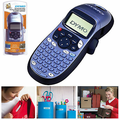 Dymo LetraTag LT 100H Printer Label Maker Machine Home School Name Kids Clothes