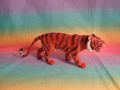 Wildlife Plastic Tiger Figure Cake Topper - as is