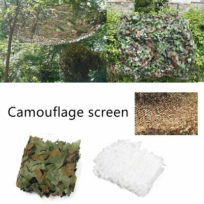 Camouflage Net Army Military Camo Car Covering Tent Hunting Blinds Netting O1