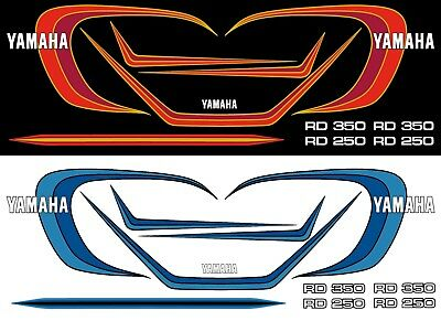 Dekorsatz Decals Yamaha RD 250/350 Digitaldruck