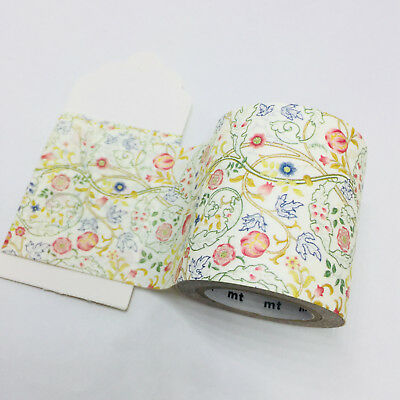Wide Washi Tape 1/2 Mtr Sample Mt William Morris Mary Isobel Mtwill06