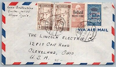 GOLDPATH: Syria cover, 1946, To Cleveland OH USA, CBHW_05_01