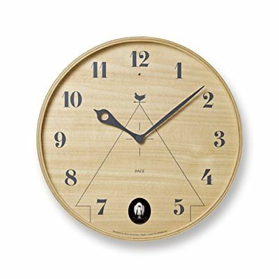 Lemnos PACE Natural LC11-09 NT LC11-09 NT Wall Clock Japan