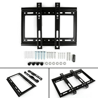 1 Set Ultra Slim TV Wall Mount Bracket For 14-32 Inches LCD LED Plasma TV Lo US