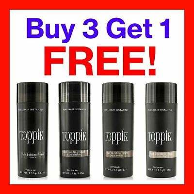 TOPPIK Hair Building Fibres 27.5g - BUY 3 GET 1 FREE!!! (ADD 3 TO BASKET)