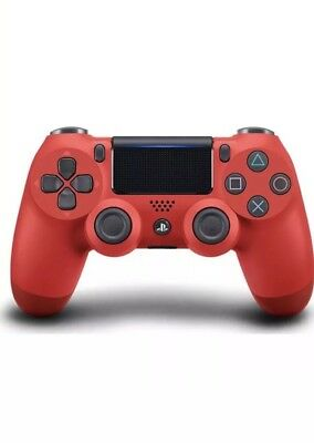 Sony DualShock 4 Wireless Magma Red Controller for PlayStation 4 - 3001549