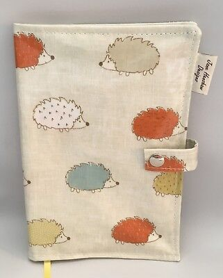 A5 Diary Cover,Journal Cover,Nurses Diary Cover,Week To View Cover,Hedgehogs