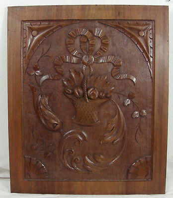 French antique  panel style louis XVI walnut n°1