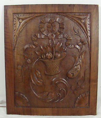 French antique  panel style louis XVI walnut n°2