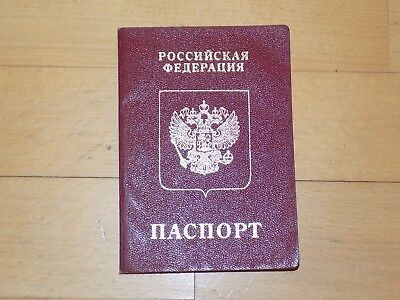 Canceled Expired Russia Russian Passport 2004 Several Germany Vizas