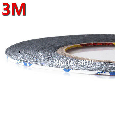 Cinta Adhesiva Doble Cara Pantallas 3 mm 3M 9448 Double Sided Sticky Tape Mobile
