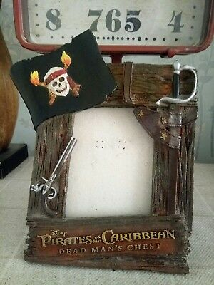 Disney Pirates Of The Caribbean Picture Frame Photo Frame Disneyland