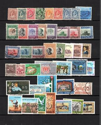 JORDAN SELECTION OF Used OF COMMEMORATIVE STAMPS LOT ( JORD 102)
