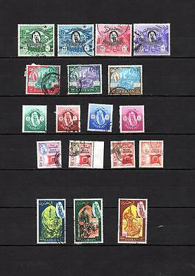 BAHRAIN - Selection of COMMEMORATIVE used stamps- LOT ( BAH 77)