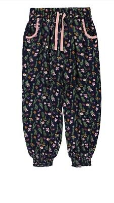 Kids Girls Trousers Trendy Infant Outfit Bottoms Leggings Age 3-4 Years New.