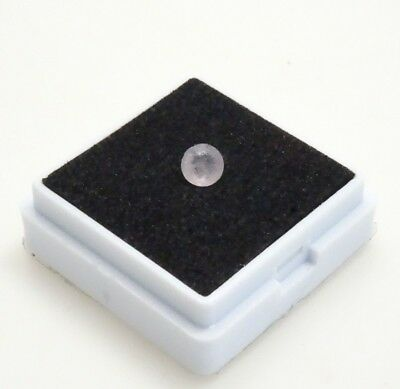 Hackmanite 0.33ct - 4.6mm Round - Tenebrescent Afghanistan - Loose Gemstone