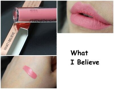 Makeup Revolution Salvation Velvet Lip Lacquer * What I Believe * Nuovo