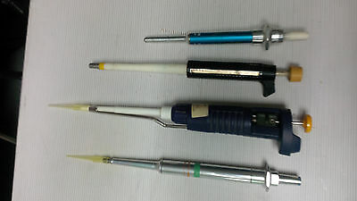 Gilson / SMI Pipettes Lot of 4 MIAMI