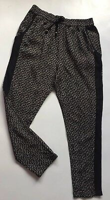 New Next Girls Loose Fit Trousers 8 Years .