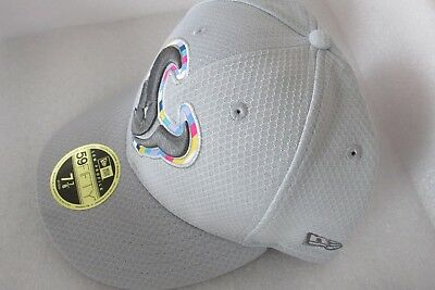 big sale 52683 9921a New Era Houston Texans Gray Crucial Catch Low Profile 59FIFTY Fitted Hat 7 7  8