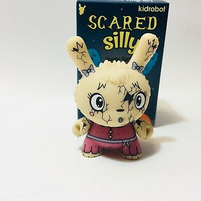 Kidrobot SCARED SILLY Dunny Series YOU CRACK ME UP Vinyl Mini Figure the bots
