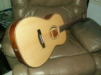 New Custom Hand Built Hybrid Solid Wood Luthier Acoustic Guitar- #448/410